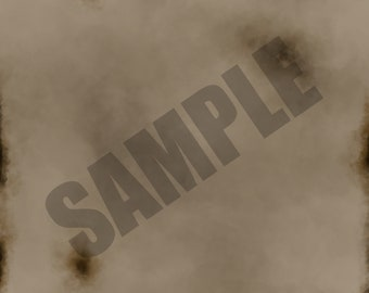 Dark Burnt Texture Single Sheet Digital Scrapbook Paper
