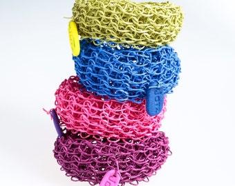 Bracelet made of Finnish paper yarn