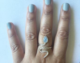 Moonshine Serpent Ring