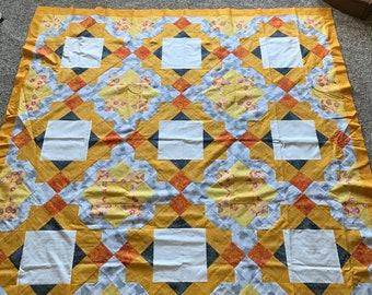 Quilt Top: Yellow Blocks