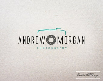Premade logo - Photography logo - Logo design - Watermark