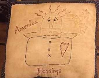Blessings Angel Stitchery E-Pattern