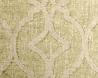 Nuri Pistachio lattice green distressed velvet decorative pillow cover