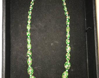 Milifiore Trade Beads neclace