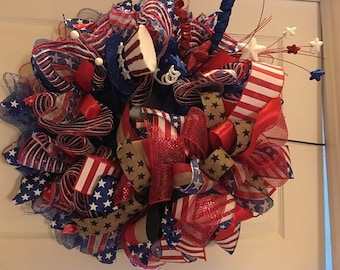 "26"" Patriotic Wreath"