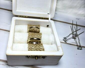Burlap Wedding, Burlap Wedding Ring Holder, Burlap Wedding Ring Box, Outdoor Wedding, Outdoor Wedding Ring Box, Country Wedding Ring Holder