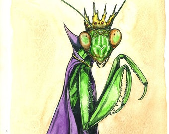 Praying Mantis Queen