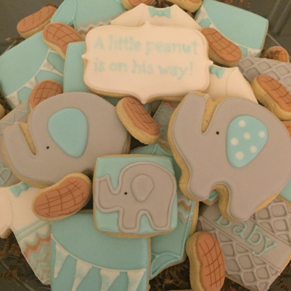 Baby Shower Party Plate