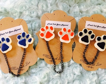 Paws .. sweater pins