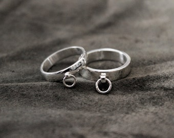 Ring of O Collar Ring Sterling Silver