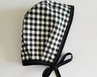 Checkered Bonnet