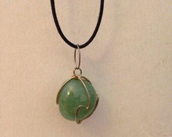 Jade Crystal Necklace