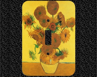 Sunflowers light switch plate covers Toggle/Rocker/Outlet