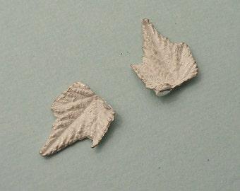 grape leaves sterling silver castings jewelers supplies UL013-2
