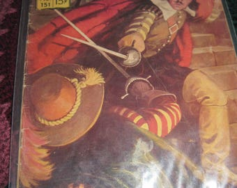 Vintage Classic Illustrated Comic 60's Era Won by the Sword No.151 of series story by G.A. Henty