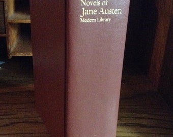 The Complete Novels of Jane Austen Vintage Book, Modern Library, Pride and Prejudice, Emma, Sense and Sensibility, Jane Austen Collection