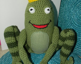 the frog prince - plush toy
