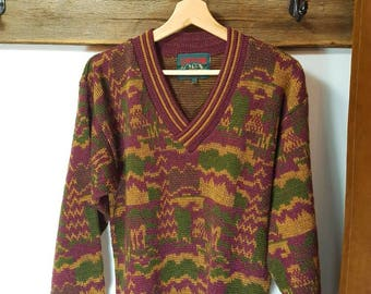Vintage originals colors sweater