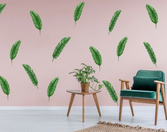 Going Banana Leaves Wall Decals