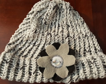 Adult Loom knit Bling Hats