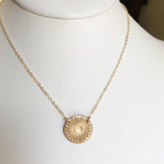 Mini Sun Medallion