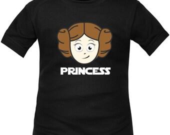 Kids t-shirt Star Wars: princess LEIA as