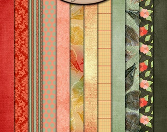Digital Scrapbooking: Just Watch Me Paper Pack