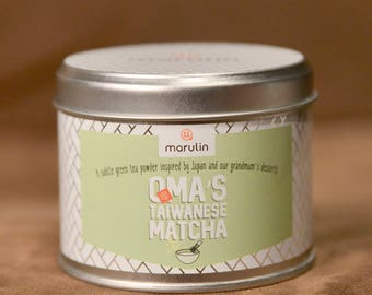 Super Matcha Green Tea Powder by Marulin For Lattes, Baking and Cooking (50g)