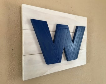 Cubs WIN sign