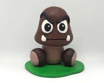 Polymer Clay Goomba Handmade figure