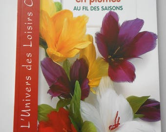 "Book ""Flowers feathers through the seasons"" - 60 models"
