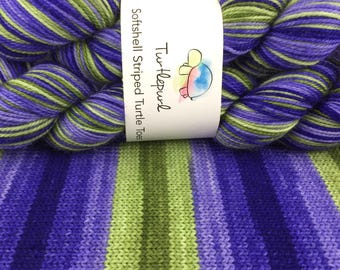 Iris - Hand-Dyed Self-Striping MCN Sock Yarn