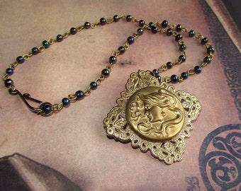 Art Nouveau Carnival Necklace