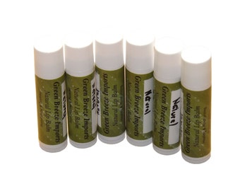 6-Pack Natural  Lip Balm (Free Shipping in USA)