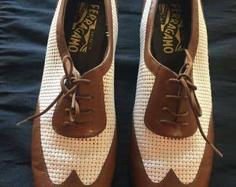 Women's Oxford salvator Ferragamo shoes