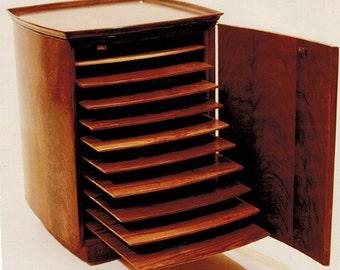 Cabinet: Sheet Music Storage