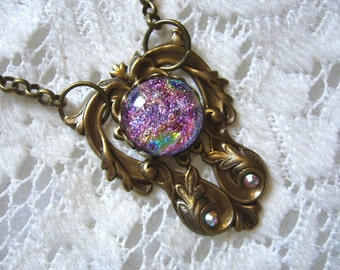 The Depth Within Victorian Pendant And Necklace