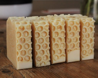 Clover Honey Soap // Cold Process Soap // Handmade Soap // Honey Soap