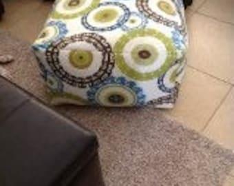 Floor Pouf 24x24x13