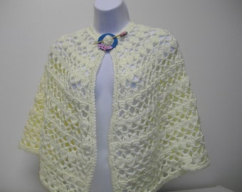 Crochet Pattern - Comforting Cape