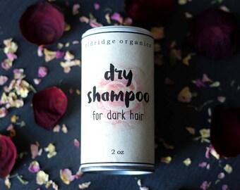 Dry Shampoo for Dark Hair - Organic Dry Shampoo - Vegan Dry Shampoo