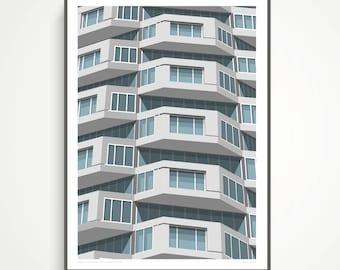 Shapes of Brutalism No. 1 Croydon, London - A2 Giclee Art Print