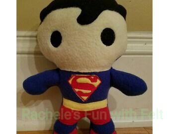 Superman stuffed doll
