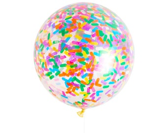 Sprinkles Jumbo Confetti Balloon