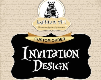 Custom Invitation Design