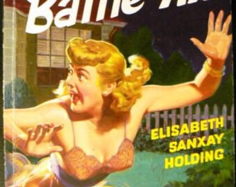 vintage paperback ... The OLD BATTLE AX  by Elisabeth Sanxay Holding ...
