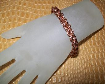 Copper JPL Chainmaille Bracelet