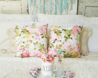 cottage style pillow set