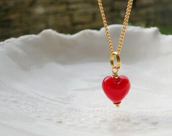 Small Murano Glass Necklace