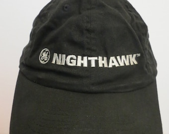 GE Nighthawk Cap Hat Black General Electric Join The Lighting Revolution